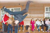На «Университетских субботах» можно научиться даже ходить по потолку!