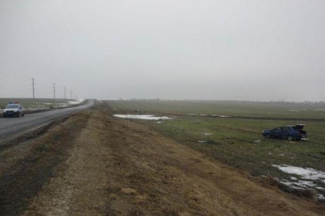 Два ВАЗа неразъехались наобъездной дороге вБелгороде