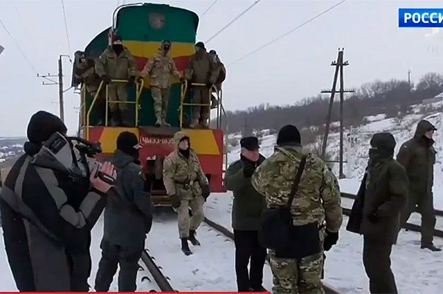 Ответная блокада. ДНР и ЛНР рвут связи с Киевом