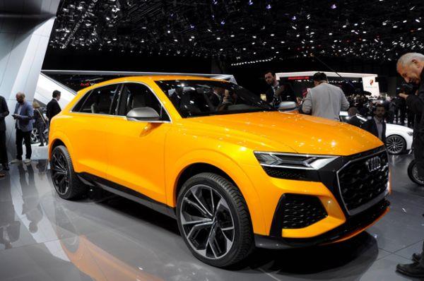 Audi Q8 Sports.