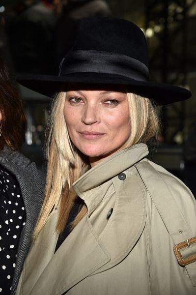 Топ-модель Кейт Мосс никогда не пропускает мировые недели моды