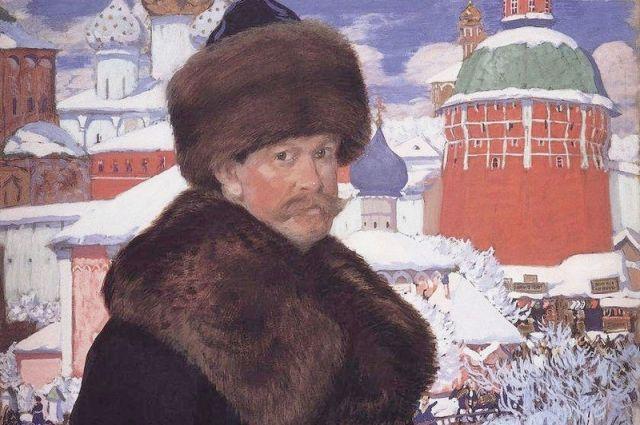 Автопортрет (1912). Хранится в галерее Уффици