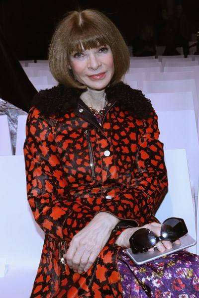 Главный редактор американского Vogue Анна Винтур