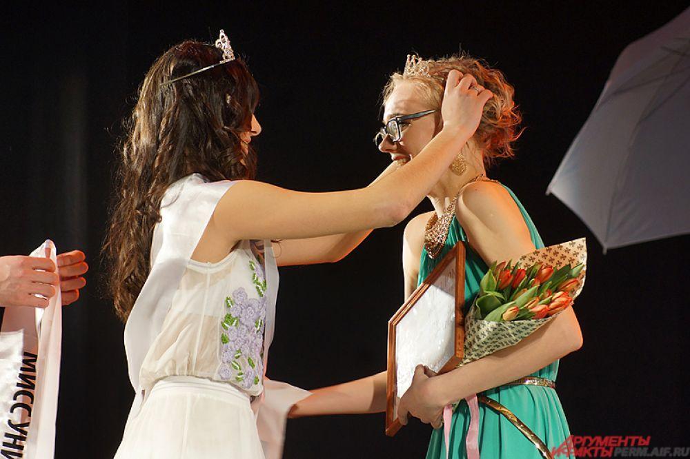 Главный же титул «Мисс университет» взяла 22-летняя студентка филфака Анастасия Костарева.