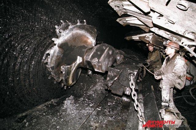Надонецкой шахте «Центральная» произошел выброс угля