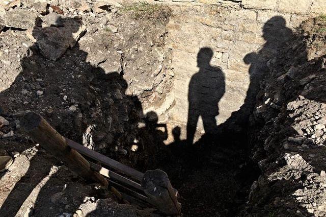 ВДании школьник откопал самолет состанками пилота внутри