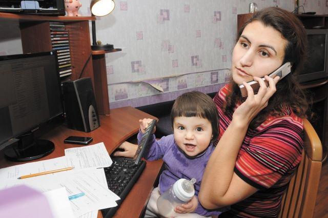 На рынке множество вакансий для мамочек, которые могут работать, не выходя из дома.
