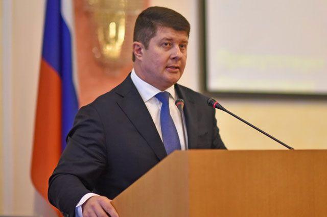За Владимира Слепцова проголосовали 34 депутата муниципалитета.