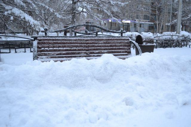 Ребёнок не смог выбраться из снега