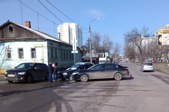 ВОрле шофёр «Хендэ» пострадал вДТП с«Рено»