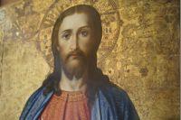 Старинная икона, обнаруженная в усадьбе салехардского купца