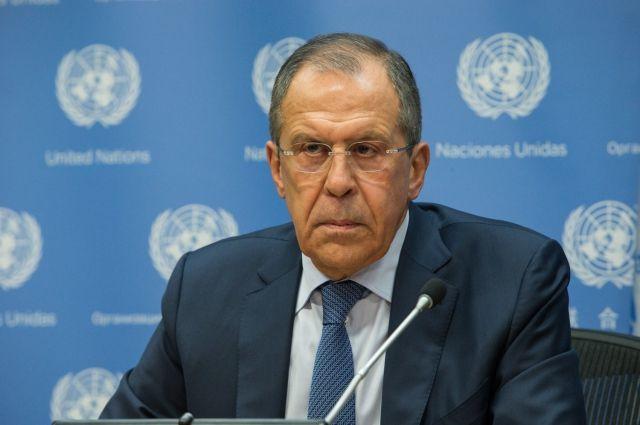 Глава МИД России призвал Киев прекратить блокаду Донбасса