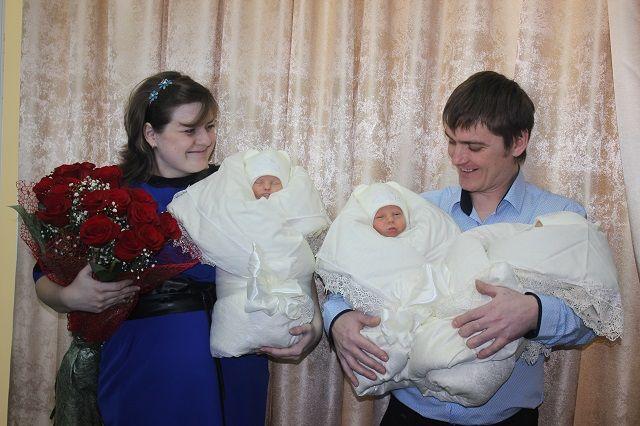 Елена и Алексей пять лет ждали рождения детей.