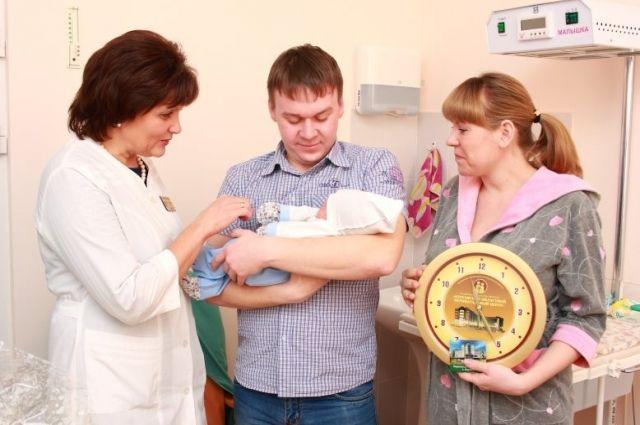 Новоиспечённых родителей в перинатальном центре поздравляют часто.
