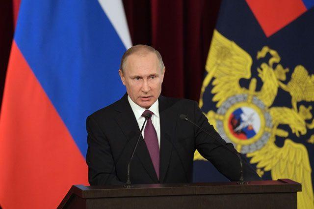 Путин снял спостов 10 генералов МВД, СК, ФСИН