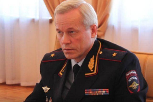 Глава УМВД поВологодской области Виталий Федотов освобожден отдолжности