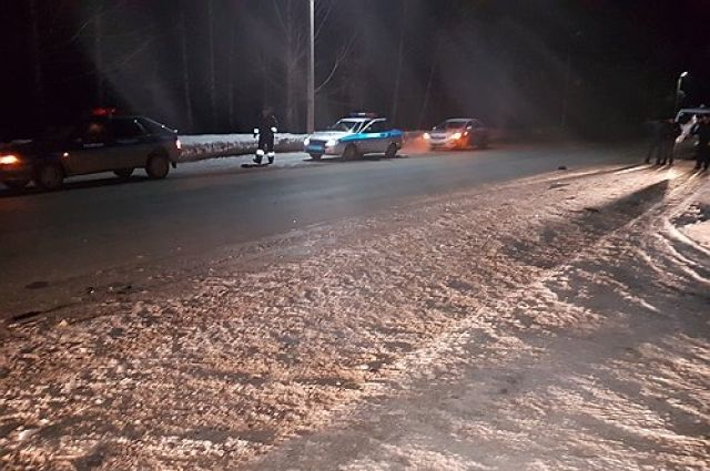 В Шарлыке водитель иномарки скрылся после смертельного ДТП