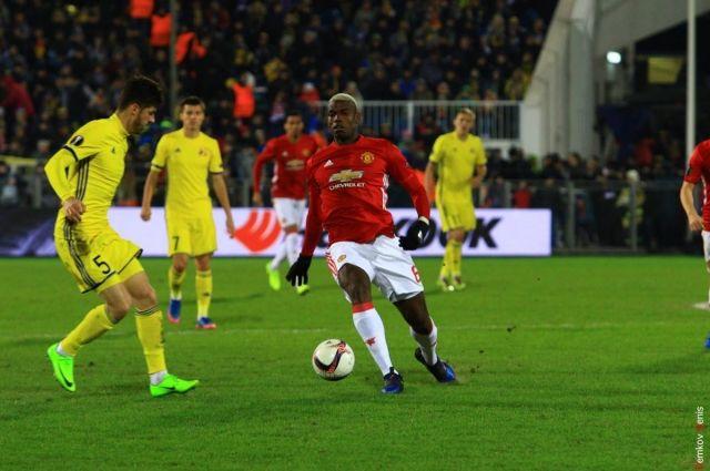 «Ростов» ушел отпоражения вматче с«Манчестер Юнайтед» вЛиге Европы