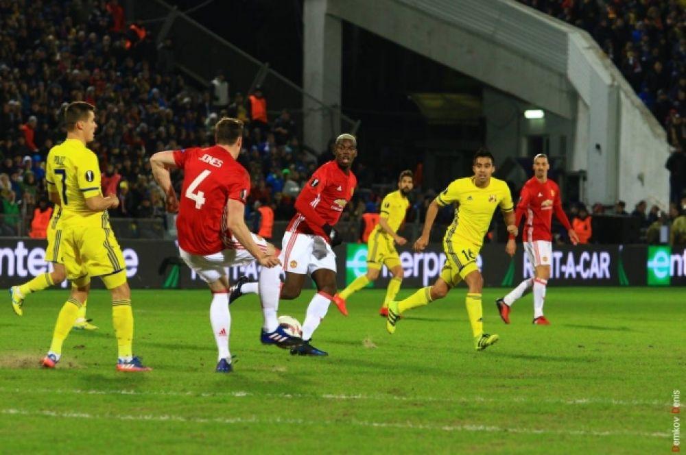 Согласно тренерским стратегиям и для «Ростова», и для «Манчестер Юнайтед» главным было не забить, а не пропустить.