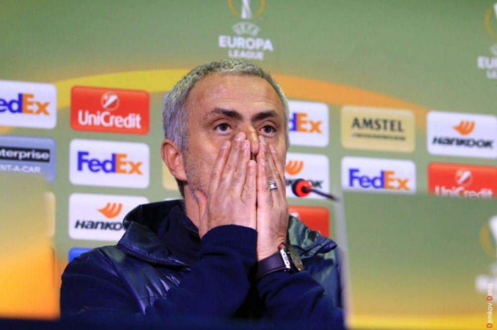 Главый тренер «Манчестер Юнайтед» - португальский специалист Жозе Моуринью на послематчевой пресс-конференции.