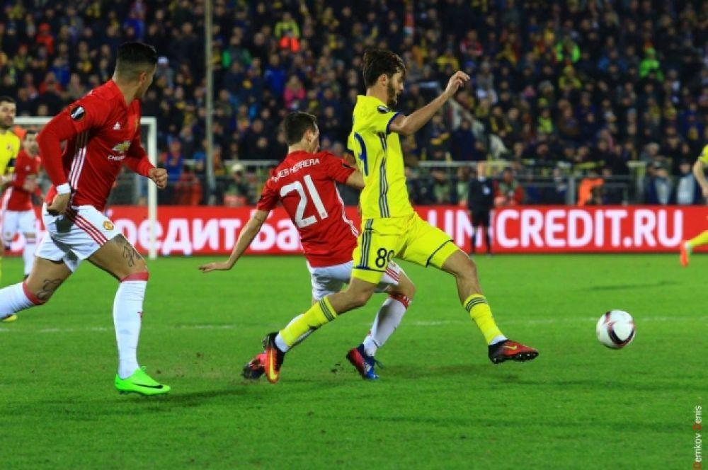 Для ростовчан игры в Лиге Европы UEFA с выдающимися командами – на уровне исторических событий.
