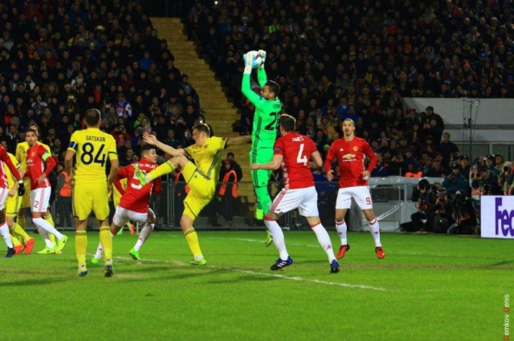 Фанаты «жёлто-синих» ждали от донской команды красивой игры и – разумеется, победы.