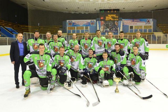 Чемпионы Алтайского края сезона 2016/2017.