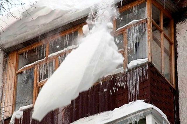 Свои балконы очищайте сами