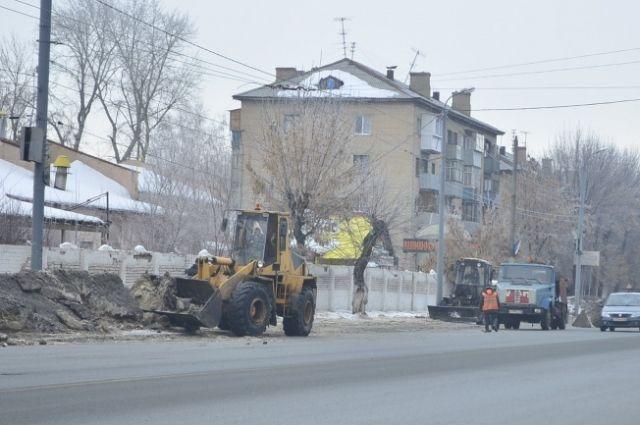 В Оренбурге ограничили автомобильное движение