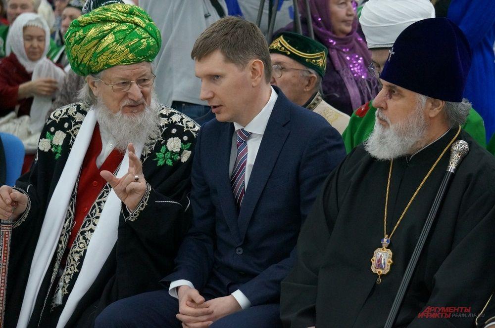 На открытие форума приехал губернатор края Максим Решетников.