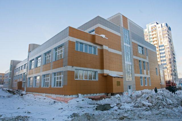 Новую школу построили за два года
