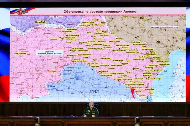 ВКС Российской Федерации занеделю нанесли 452 удара поИГ навостоке Алеппо