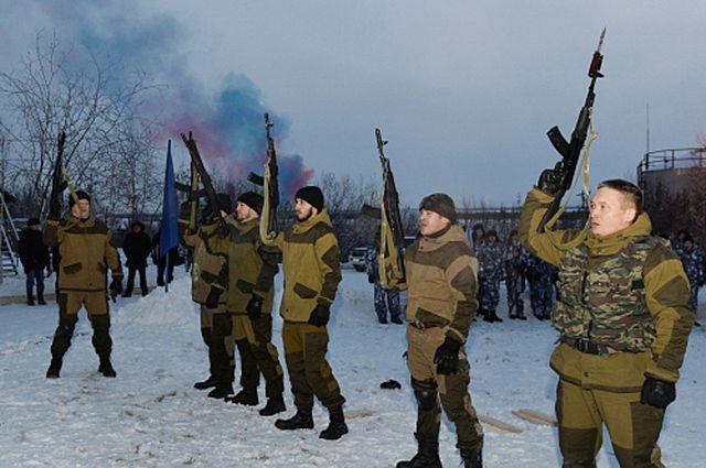 Военные сборы на Ямале