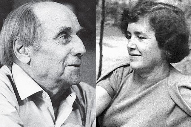 Владимир Сутеев и Татьяна Таранович.