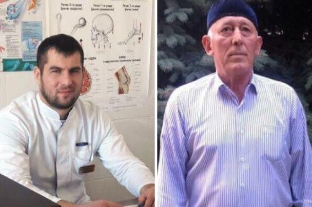 ВЧечне пенсионер и доктор  спасли ребенка извосьмиметрового колодца