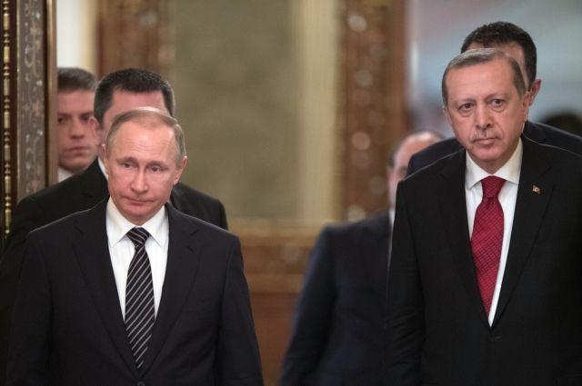 Эрдоган пригласил Путина на заседание ОЧЭС в Стамбул