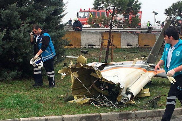 Число погибших падения вертолета вТурции выросло до 7-ми