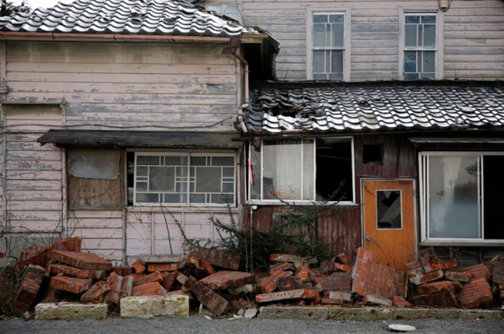 Город Намиэ расположен всего в 4 км от электростанции, пострадавшей во время землетрясения.