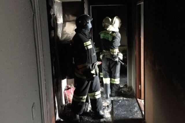 ВКупчино сгорел балкон синвалидной коляской ивелосипедом