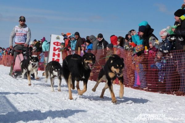 Гонка прошла в дисциплинах лыжи-спринт и нарта-спринт.