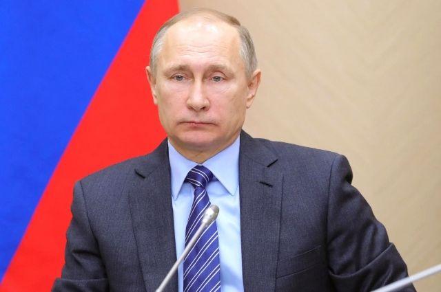 Песков: Путин провел оперативное совещание в Совбезе РФ