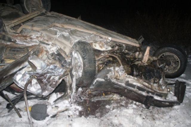 Под Челябинском вжутком ДТП погибли 4 человека