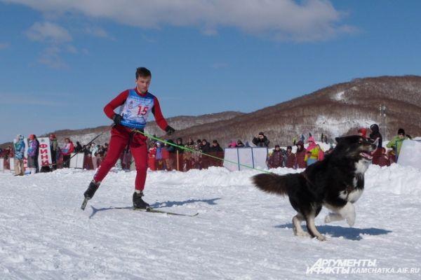 Соревнования по скиджорингу.