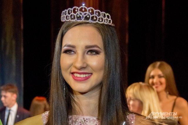 Студентка ПГУАС Юлия Самылкина выиграла конкурс «Мисс студенчество» вПензе