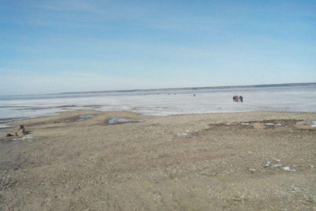 ВУльяновской области сняли сотколовшейся льдины 15 рыбаков