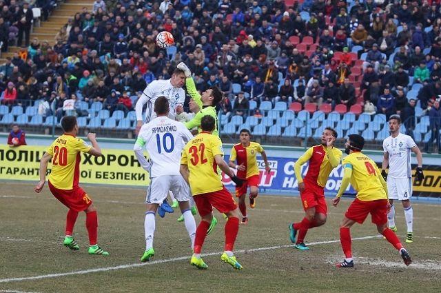 Киевское «Динамо» уступило «Звезде» вчемпионате Украины