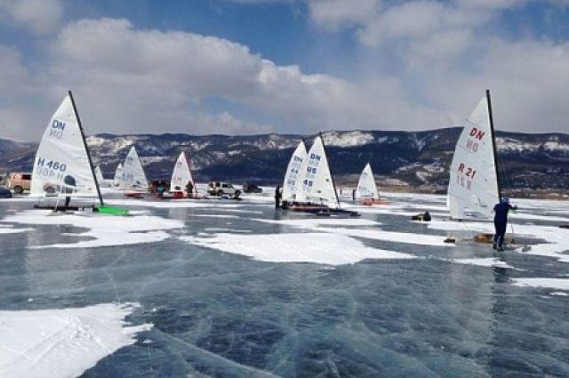 Соревнования пройдут на льду Байкала.