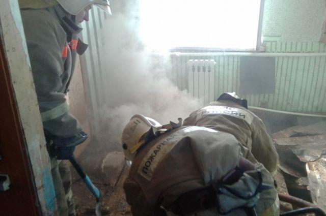 ВТуле наулице Летней сгорел дом