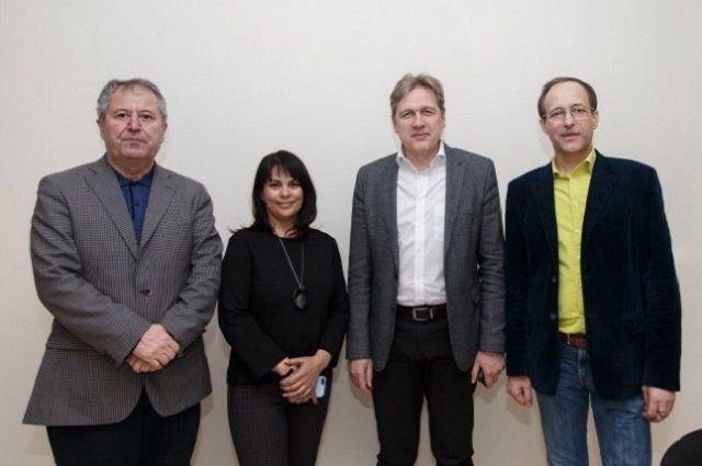 Мастерская архитектора Андрея Табанакова встретила гостей