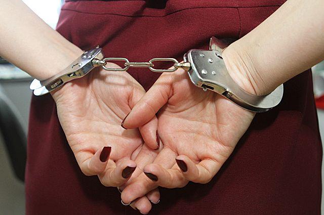 Женщина задержана.